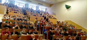 Студентам политехнического института ЮурГУ рассказали о медиабезопасности
